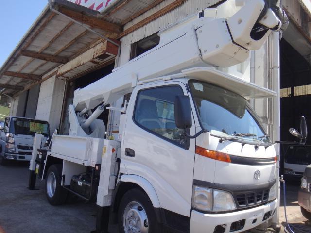 トヨタ 高所作業車SN15A電工仕様 作業高14.6m