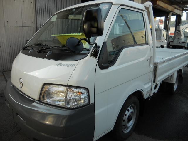 マツダ ボンゴトラック ワイドロー 1t積 平ボディ リアWタイヤ