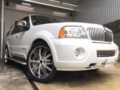 リンカーン ナビゲーター新品タイヤ4本 1ナンバー 革シート サンルーフ