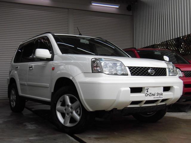 日産 Xtt 保証付 社外アルミ ETC 4WD