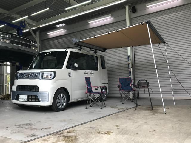 トヨタ ピクシスメガ L SA ルーフキャリア テント キャンプ 衝突防止システム 純正CDオーディオ スマートキー LEDヘッドライト ベンチシート 左側パワースライドドア