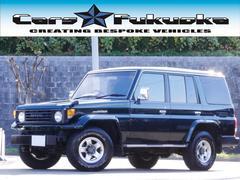 ランドクルーザー70ZX サンルーフ 社外15インチAW 背面タイヤ