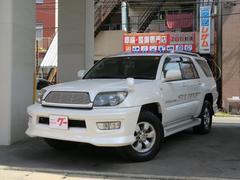 ハイラックスサーフSSR−X HDDナビ DVD再生  純正アルミ ガソリン車