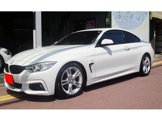 BMW 420iクーペ Mスポーツ/ローダウン/Rスペーサー/