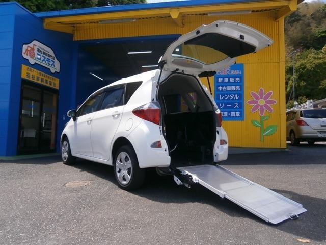 トヨタ X ウェルキャブ 車いす仕様車スロープタイプ タイプI