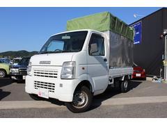 キャリイトラックKC 幌車 MT パワステ