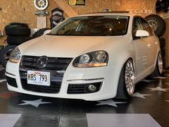 VW ジェッタ2.0Tターボ サンルーフ 車高調 キャンバーアーム ナビ