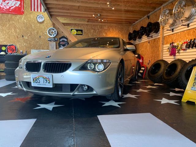 BMW 630i 車庫保管 本革シート ガラスコーティング施工済み
