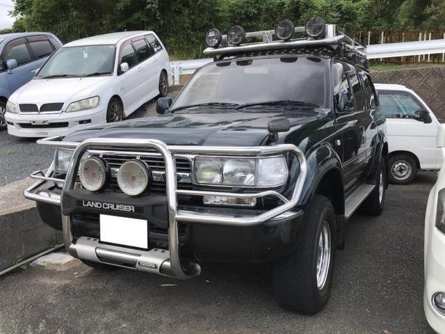 トヨタ VXリミテッド 4WD 1ナンバー登録 キャリア