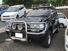 ランドクルーザー80VXリミテッド 4WD 1ナンバー登録 キャリア