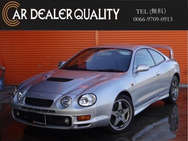 トヨタ GT-FOUR 4WD社外CD リアスポ 後期モデル