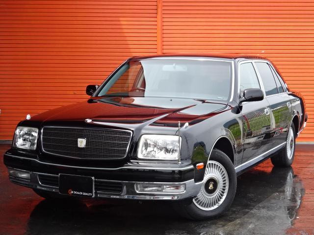 トヨタ センチュリー フロアシフト 本革シート 本革巻きシフトノブ デュアルEMV オットマン マッサージ ウォークマン 中期モデル