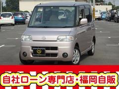 タント4WD  2年車検登録渡し 自社ローン☆タイヤ4本新品