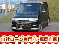 タントRS 4WD 検査2年登録渡し 自社ローン☆タイヤ4本新品