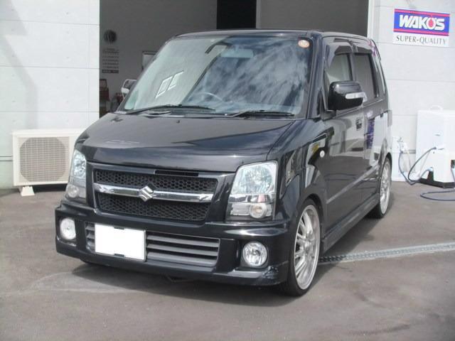 スズキ RR-Sリミテッド 4WD ターボ HDDナビ ローダウン