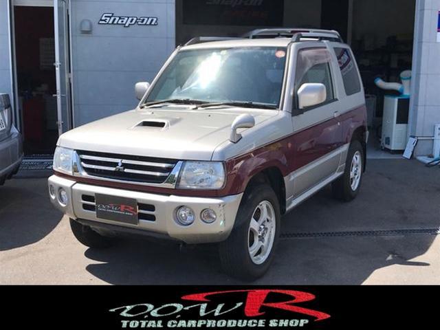 三菱 アニバーサリーリミテッド-V ターボ 4WD ポータブルナビ