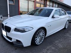 BMW528i Mパフォーマンスタイプエアロ 社外20インチAW