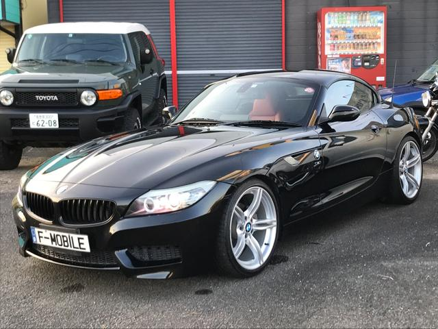 BMW Z4 sDrive23i 保証付 ダウンサス レッドレザーシート 純正ナビ CD再生 純正19インチAW HIDライト オートライト シートヒーター パワーシート スマートキー プッシュスタート ディーラー車 右ハンドル