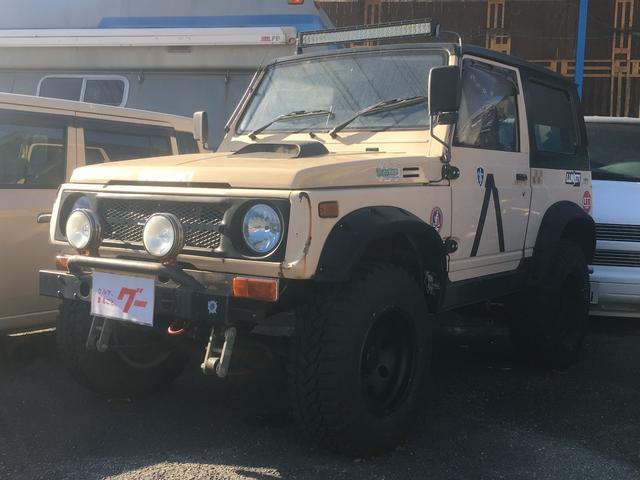 スズキ HC 4WD オーバーフェンダー 社外AW