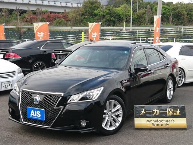 トヨタ アスリートSアドバンストPKG・黒本革・HDD・サンルーフ