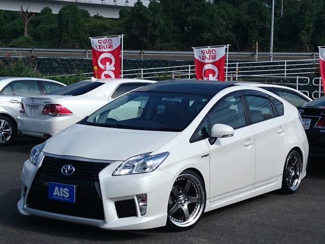 トヨタ S新品エイムゲインエアロ/SSR19インチ/HKS車高調