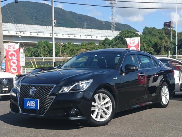 トヨタ アスリートG 1オーナー・黒本革・HDDナビ・サンルーフ