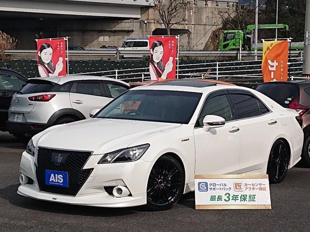 トヨタ アスリートS ブラックスタイル専用テラロッサ本革・モデリスタ