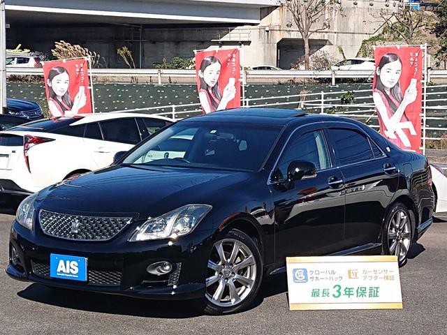 トヨタ 2.5アスリート ナビパッケージ黒本革・純正ナビ・サンルーフ