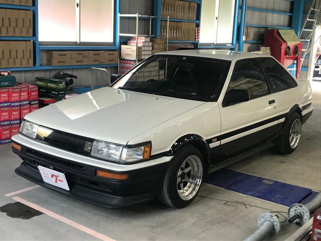 「トヨタ」「カローラレビン」「クーペ」「長崎県」の中古車