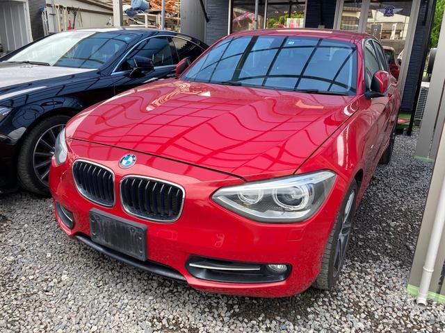 BMW 1シリーズ 120i スポーツ ナビ CVT AW スマートキー オーディオ AC バックカメラ