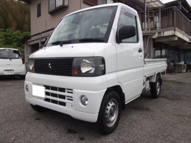 三菱 ミニキャブトラック VX-SE バッテリー・オイル・エレメント交換・エアコン・パワステ4WD・CDステレオ