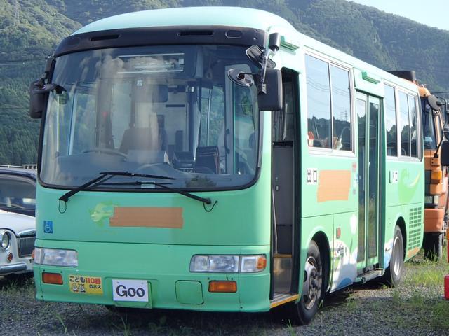 日野 小型路線バス 中扉部リフト付