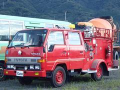 トヨエースWキャブロングジャストローDX パワステ エアコン 消防