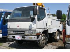 キャンター全低床SA 高所作業車 バックモニター 積載荷重200kg