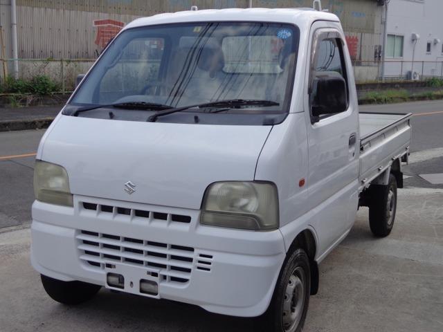 スズキ KUスペシャル 3方開 4WD パワステ エアコン
