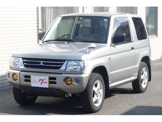 三菱 パジェロミニ XR 4WD キーレス CD・MD再生 純正アルミ