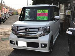 N BOXカスタムG ターボ ナビ TV 軽自動車 ETC ドラレコ