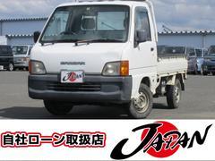サンバートラックTB 4WD 5速ミッション エアコン 車検整備付き