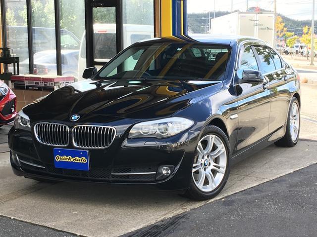 BMW 523iハイライン・黒革シート・HDDナビ地デジ・Cアクセス