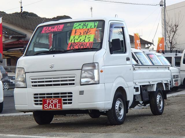 スズキ FC エアコン パワステ 4WD 5MT