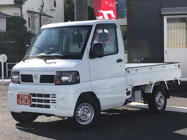 日産 DX 5速MT エアコン パワステ 4WD 運転席エアバッグ