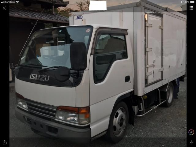 いすゞ 冷凍冷蔵車 5速 ディーゼル車