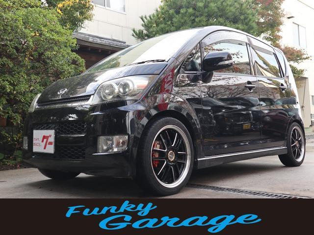 ダイハツ カスタム RS AW別売 キーフリー ローダウン