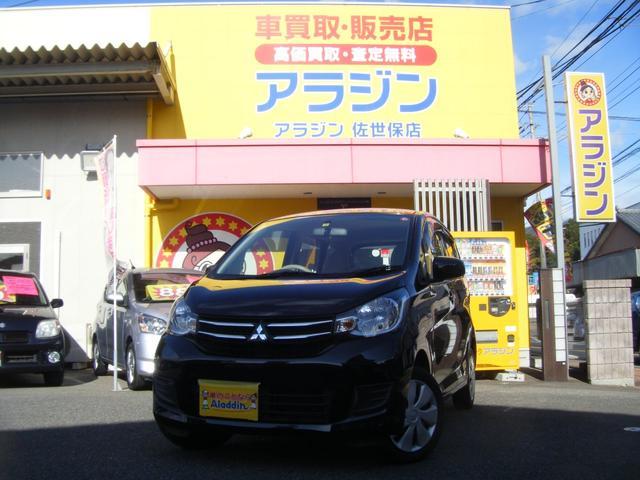 三菱 eKワゴン E キーレス ETC 社外ナビ シートヒーター Bカメラ