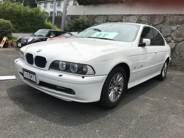 BMW 530i 黒革 SR キーレス 車検令和03年4月