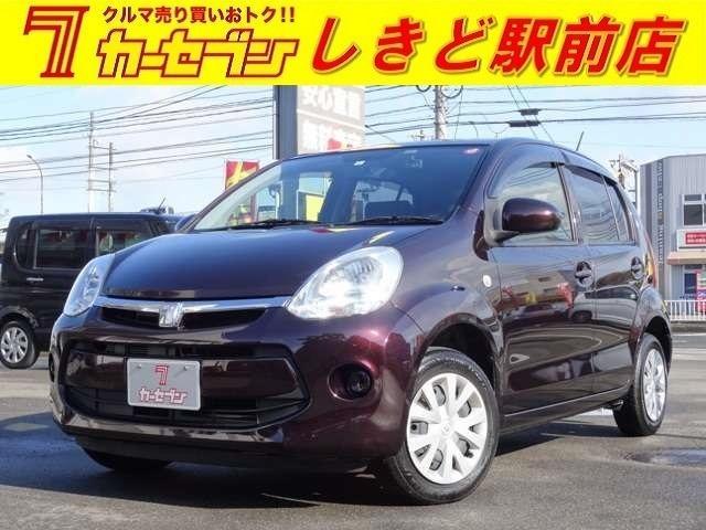トヨタ 1.0X Lパッケージ・キリリ スマートキー アイドリングストップ ベンチシート CD 盗難防止装置 ABS HID
