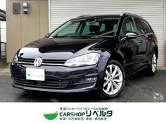 VW ゴルフヴァリアントTSIハイラインBMT DiscoverPro 黒革 禁煙車