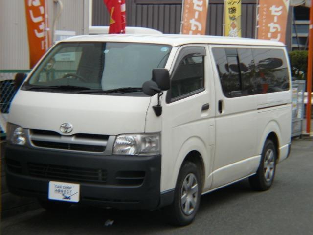 トヨタ ロングDX 4ナンバー 軽油 ETC 9人乗 Tベルト交換渡