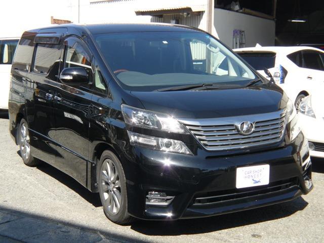 トヨタ 2.4Z プラチナセレクションII 2年無料保証 SDナビ