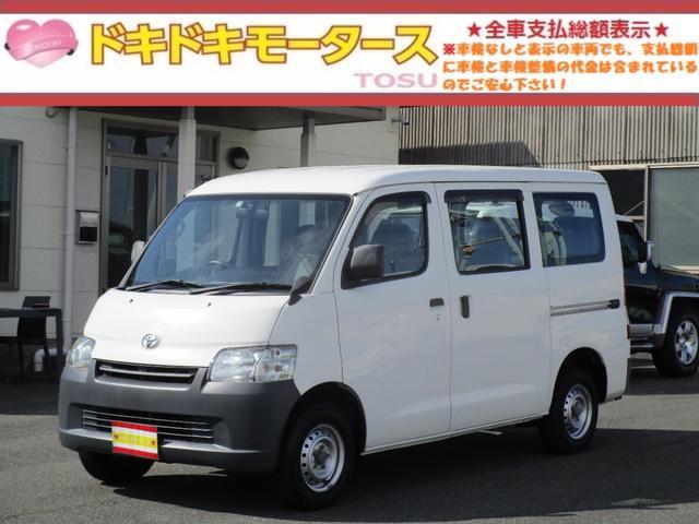 トヨタ ライトエースバン DX 両側スライドドア SDナビ ワンセグTV Bluetooth CD ETC タイミングチェーン